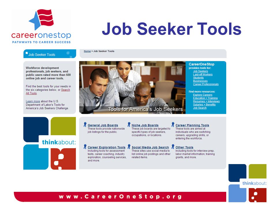 Job Seeker Tools