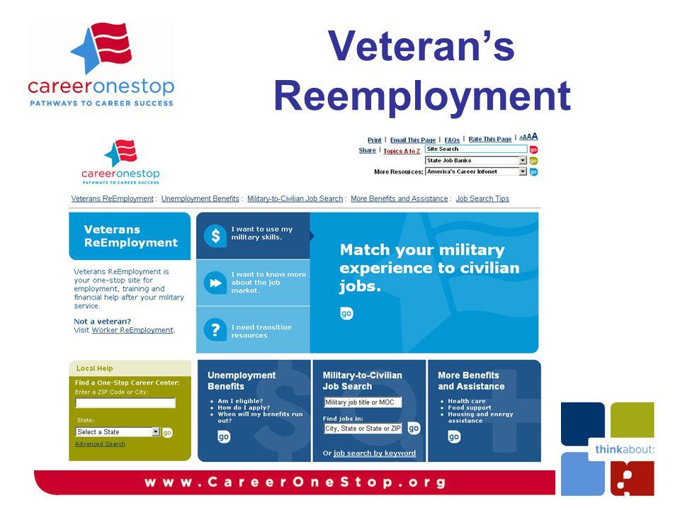 Veteran's Reemployment