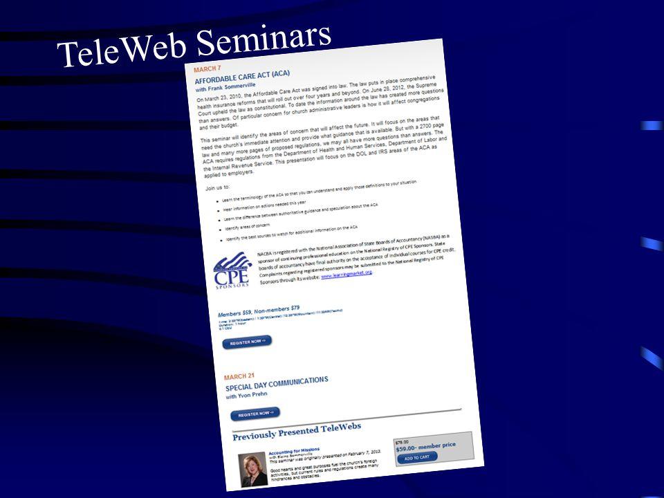 TeleWeb Seminars
