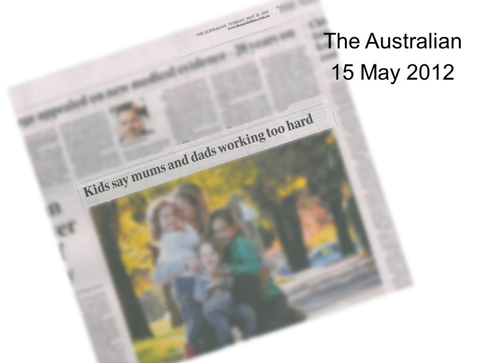 The Australian 15 May 2012