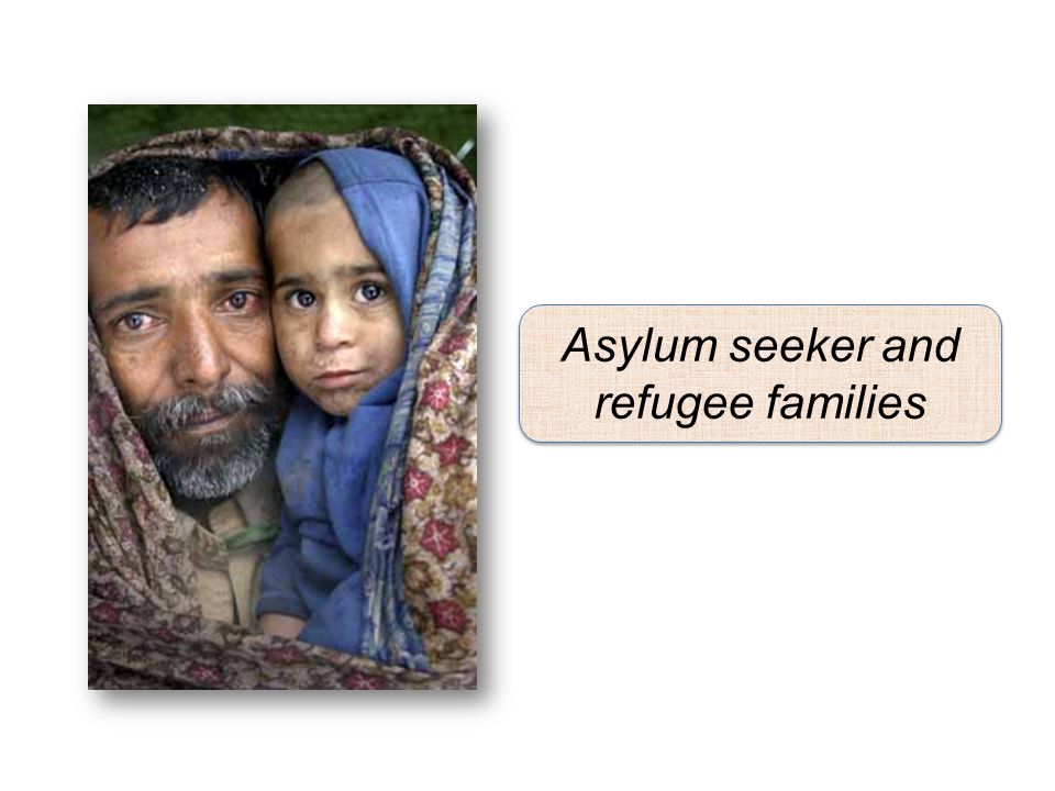 Asylum seeker and refugee families