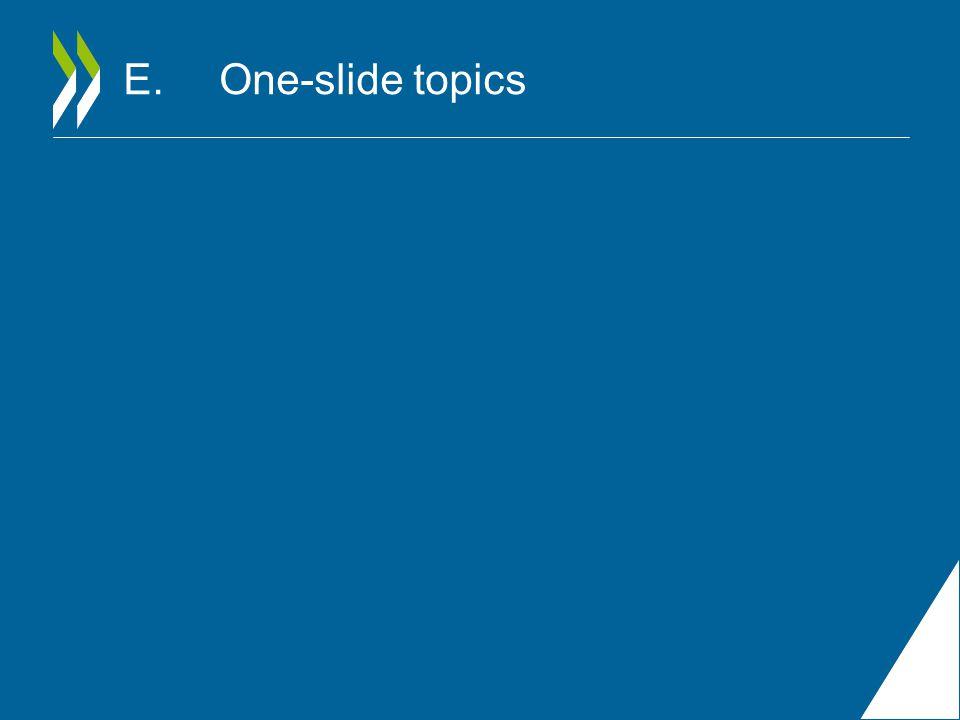 E.One-slide topics