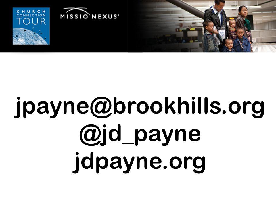 jpayne@brookhills.org @jd_payne jdpayne.org