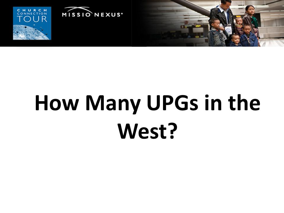 How Many UPGs in the West