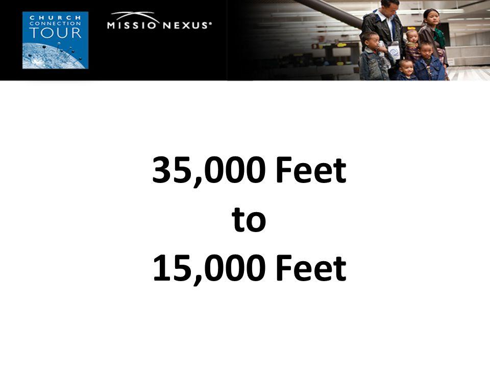 35,000 Feet to 15,000 Feet