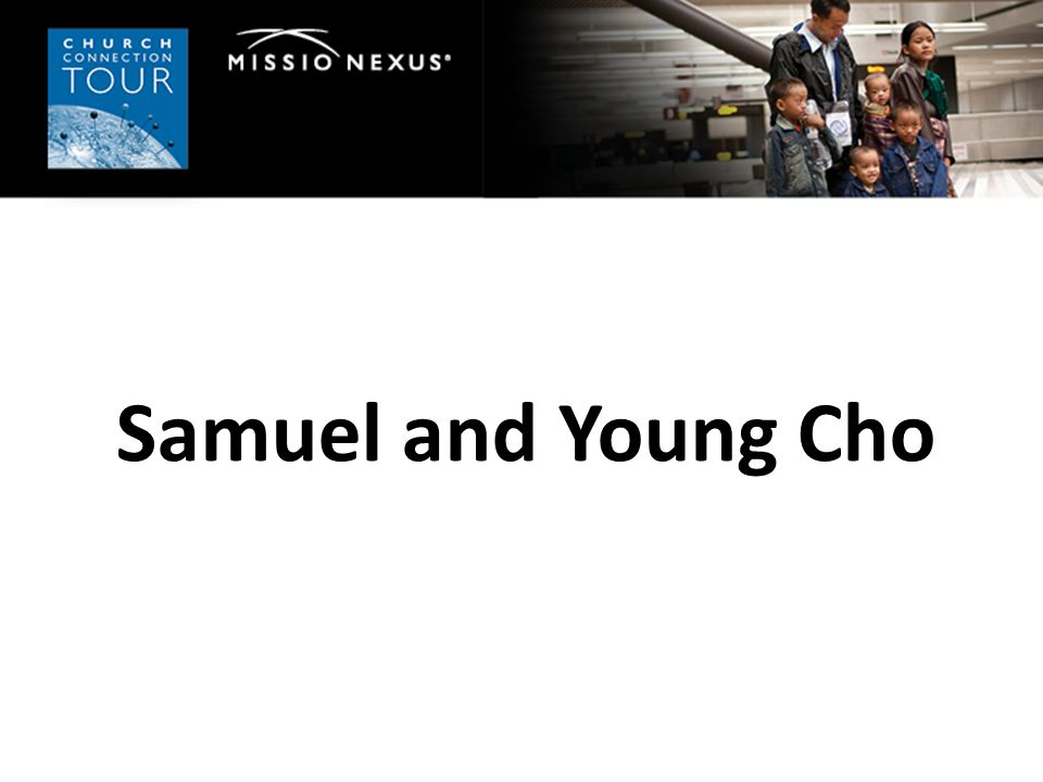 Samuel and Young Cho