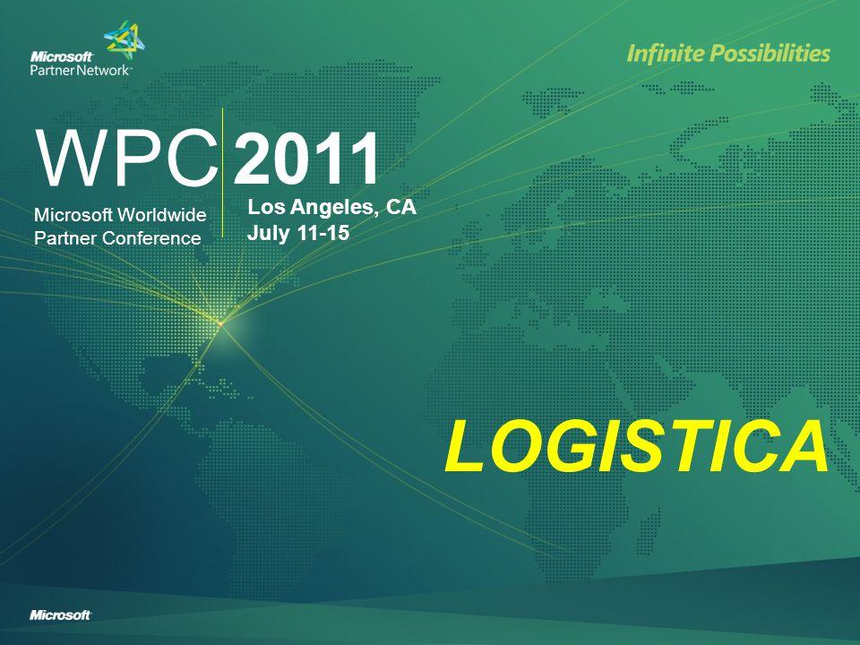 WPC 2011 Los Angeles, CA July 11-15 Microsoft Worldwide Partner Conference WPC - Hoteles y Centro de convenciones