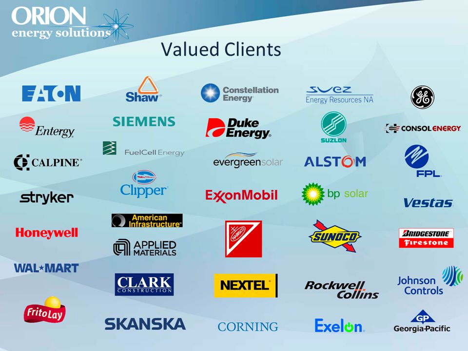 Valued Clients