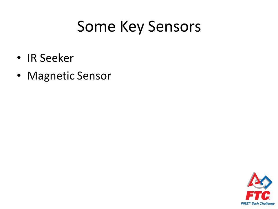 Some Key Sensors IR Seeker Magnetic Sensor