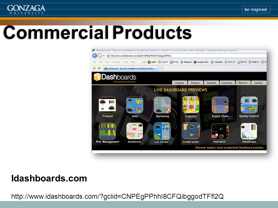 Idashboards.com http://www.idashboards.com/ gclid=CNPEgPPhhI8CFQibggodTFfl2Q CommercialProducts Commercial Products