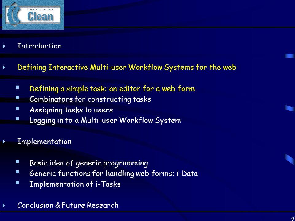 70 Implementation architecture v :: T Clean Application