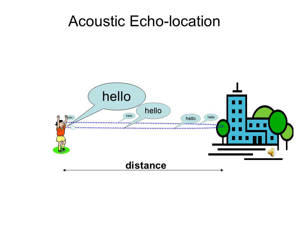 hello Acoustic Echo-location
