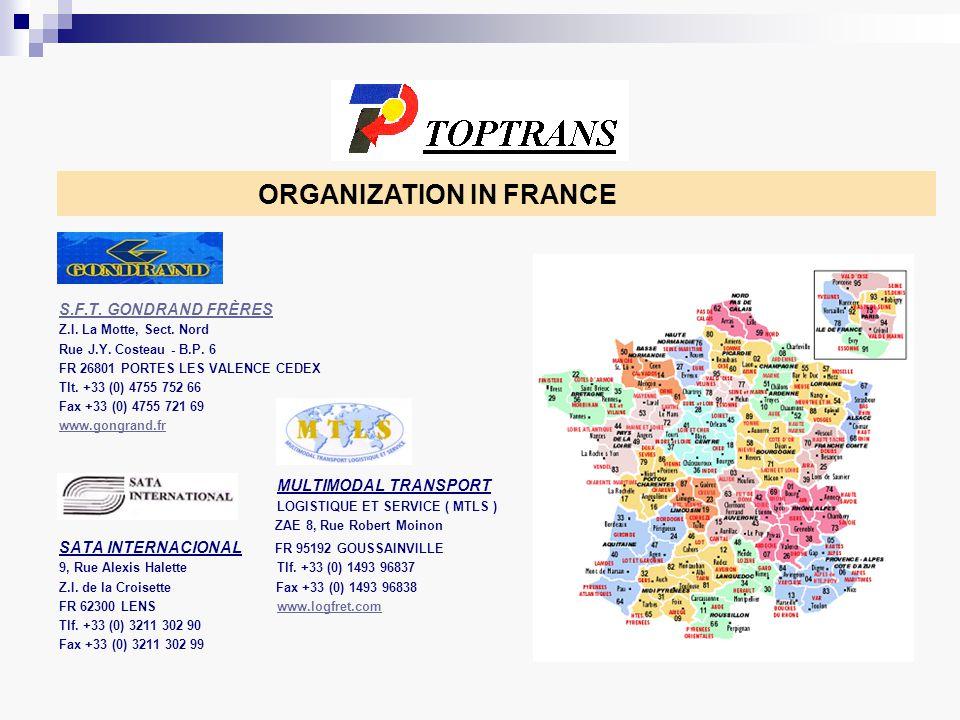 ORGANIZATION IN ITALY Barbiero SpA Via G di Vitorio 19 25125 Brescia Tel.
