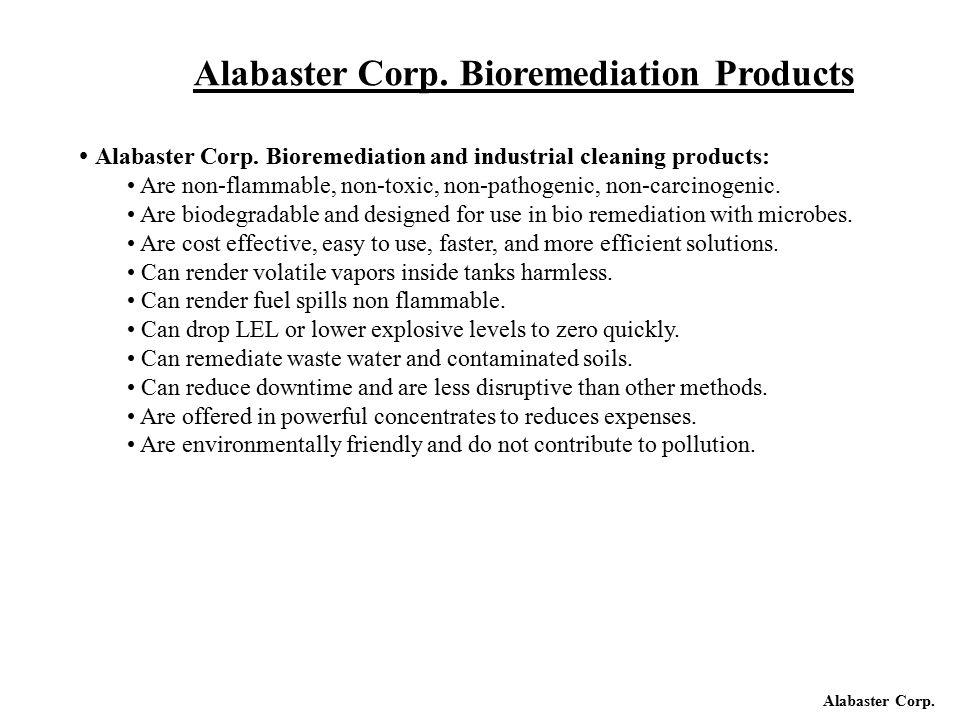 Alabaster Corp.Alabaster Corp.