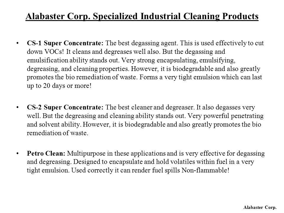 Alabaster Corp.
