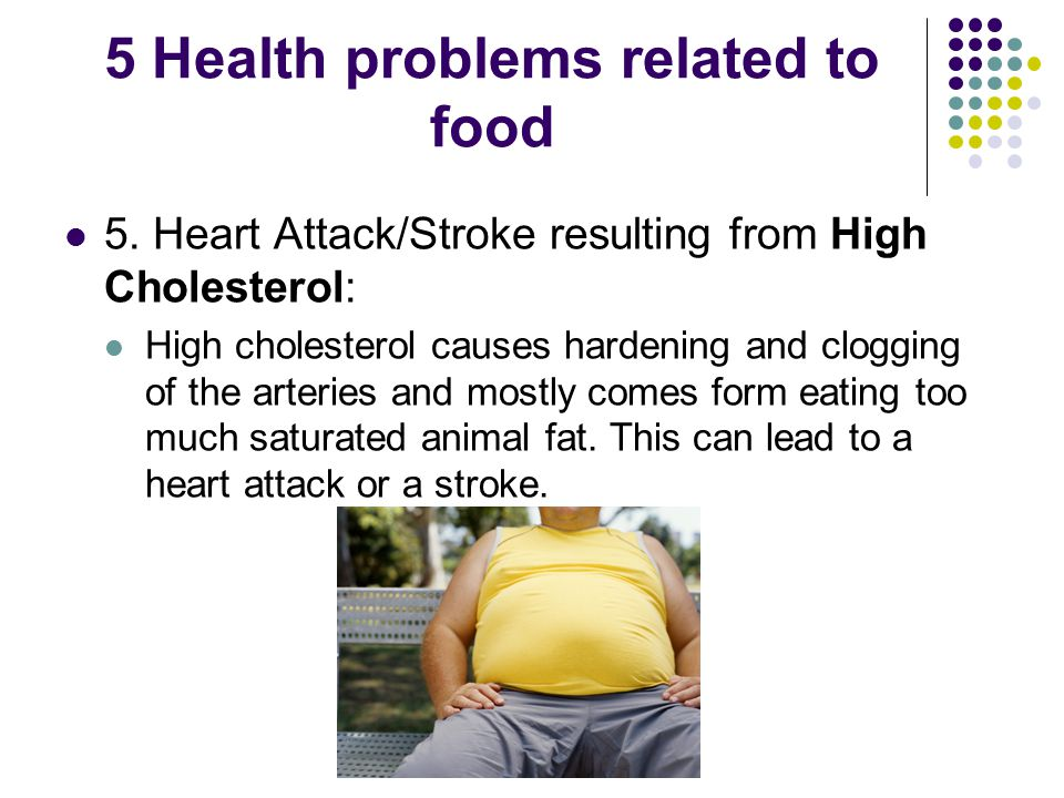 5 Health problems related to food 5.