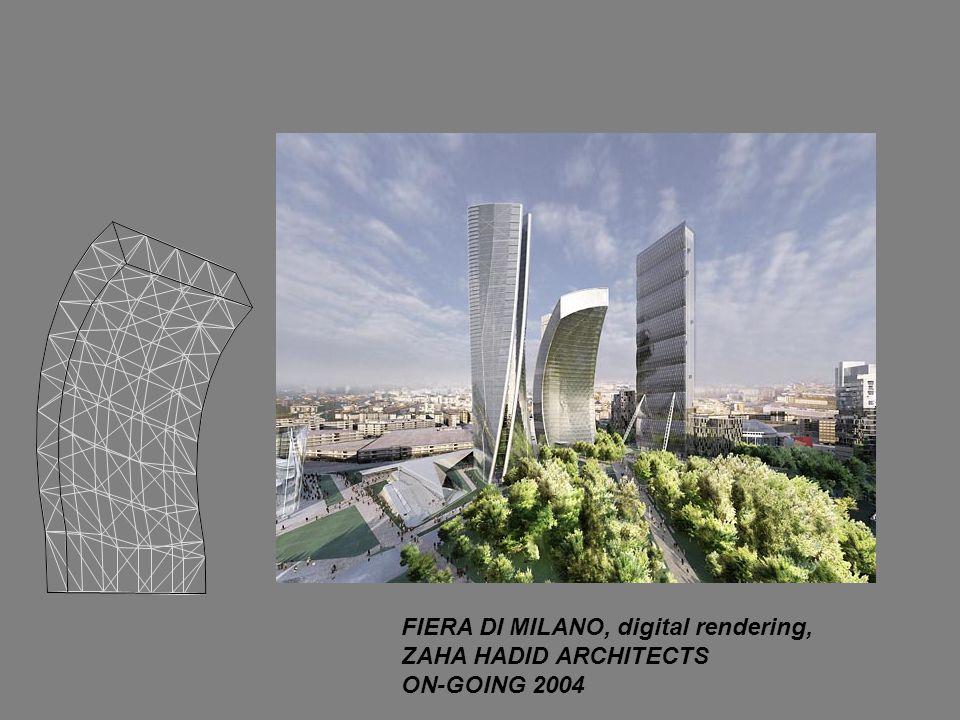 FIERA DI MILANO, digital rendering, ZAHA HADID ARCHITECTS ON-GOING 2004