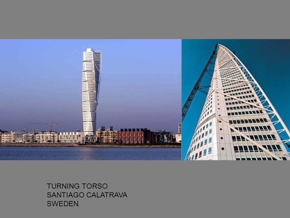 TURNING TORSO SANTIAGO CALATRAVA SWEDEN