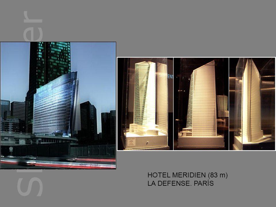 HOTEL MERIDIEN (83 m) LA DEFENSE. PARÍS