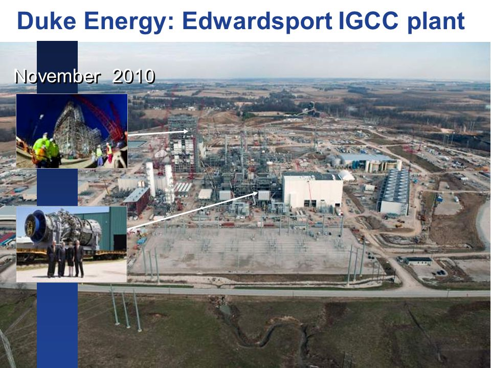 Duke Energy: Edwardsport IGCC plant November 2010