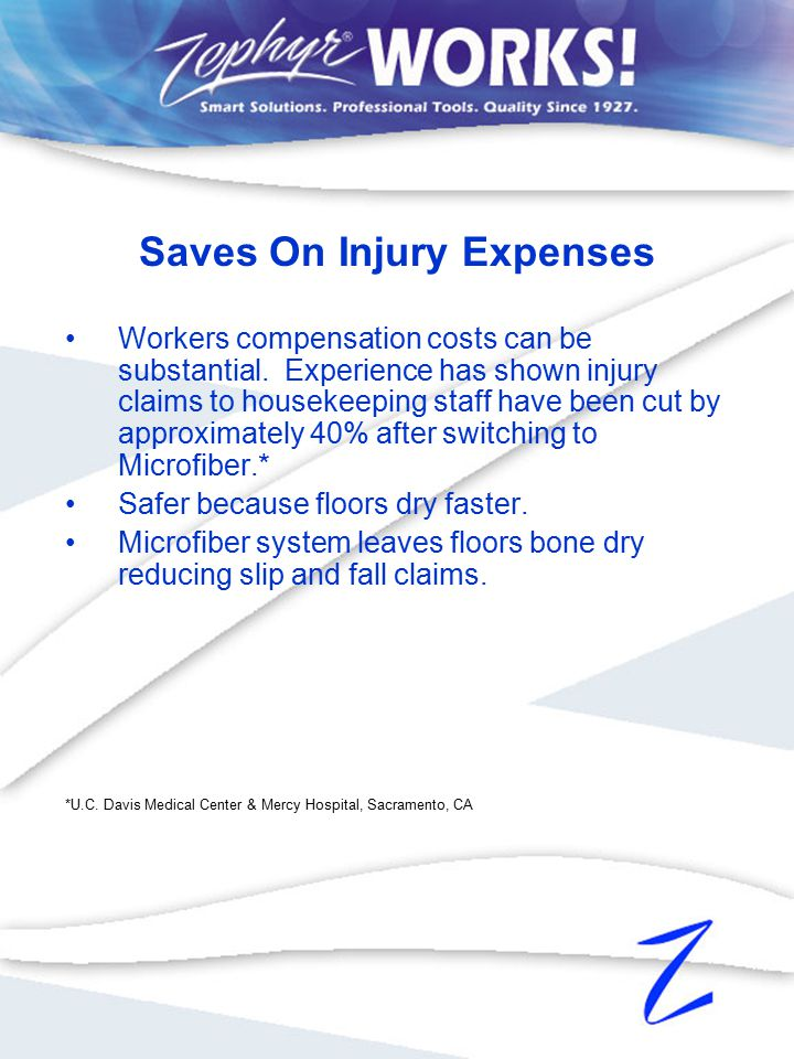 Workers compensation costs can be substantial.