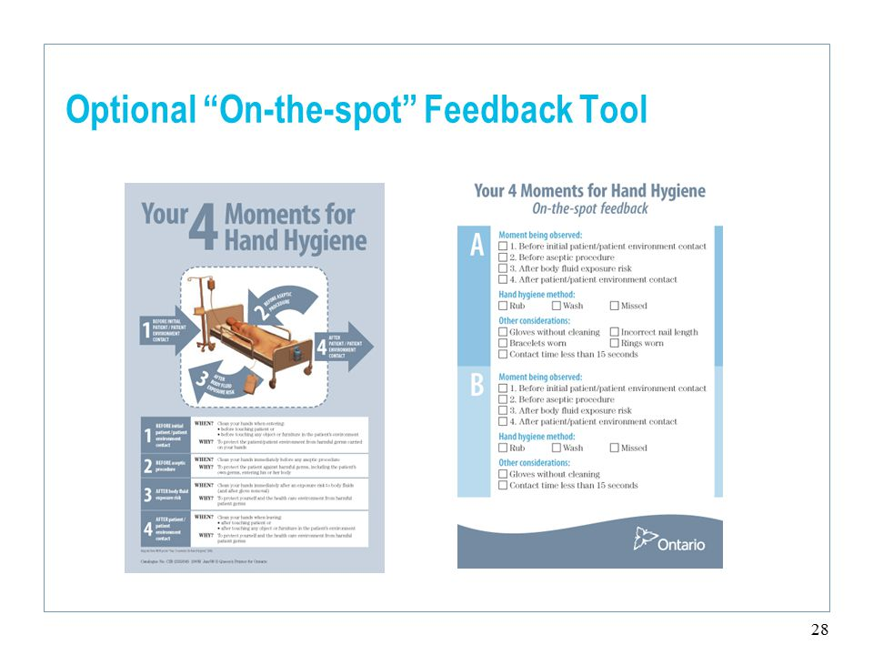 28 Optional On-the-spot Feedback Tool