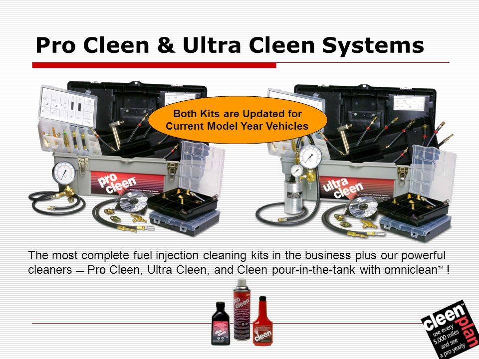 The most complete fuel injection cleaning system and program pro cleen ultra cleen systems the most complete fuel injection cleaning kits in the business solutioingenieria Image collections