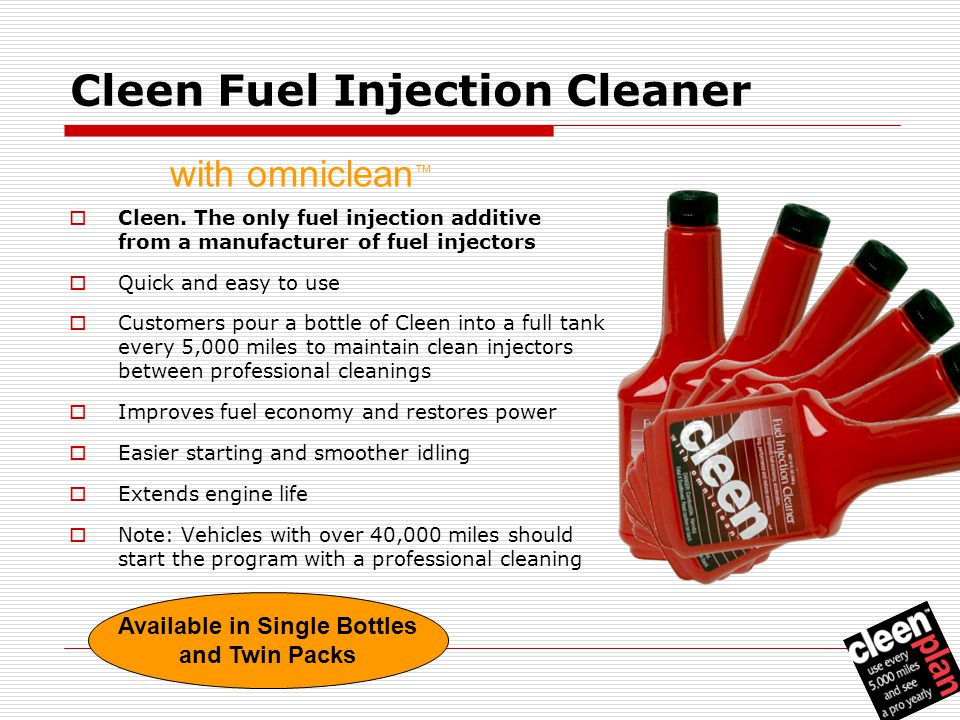 Cleen Fuel Injection Cleaner  Cleen.