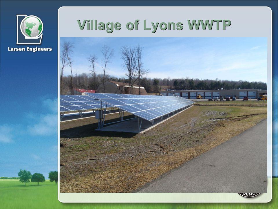 Village of Lyons WWTP