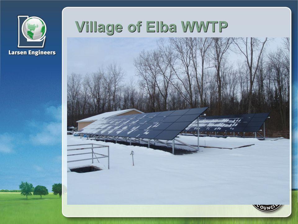 Village of Elba WWTP