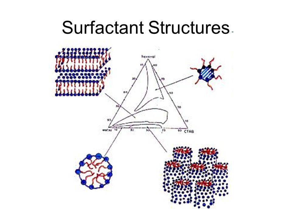 Surfactant Structures