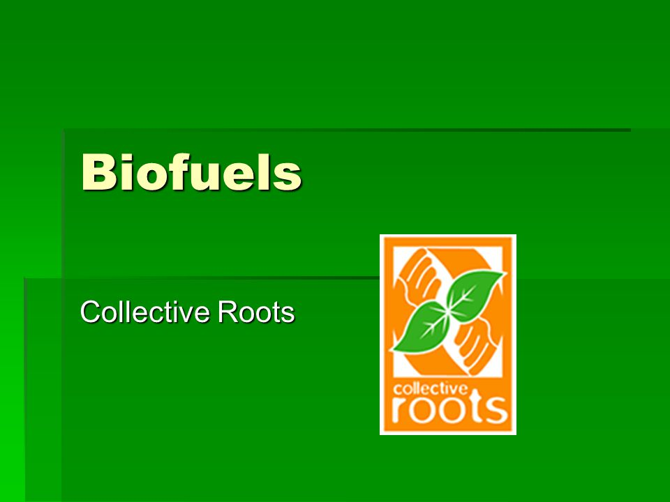 Biofuels Collective Roots
