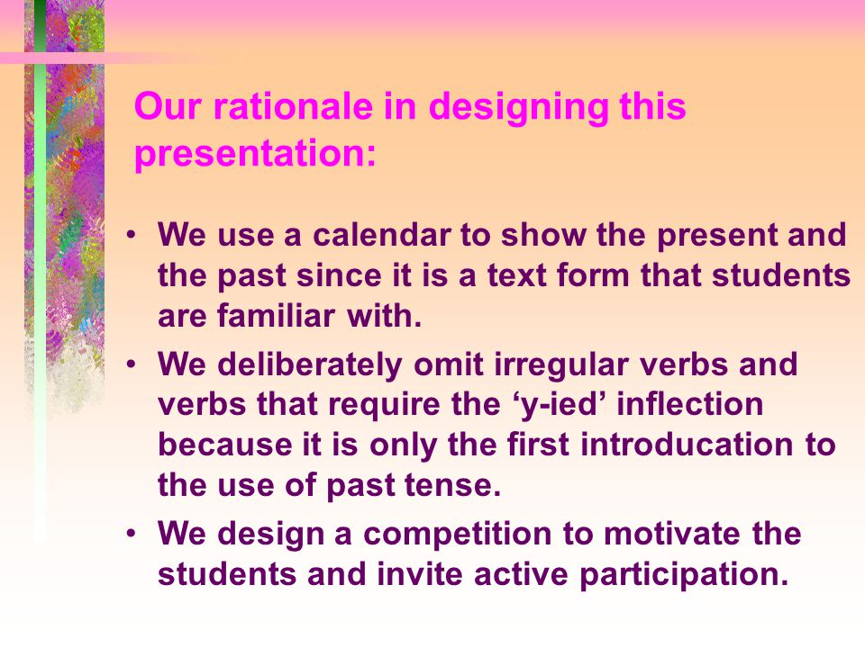 In this lecture, with the help of workbooks and worksheets, our P.3 students will be able to...