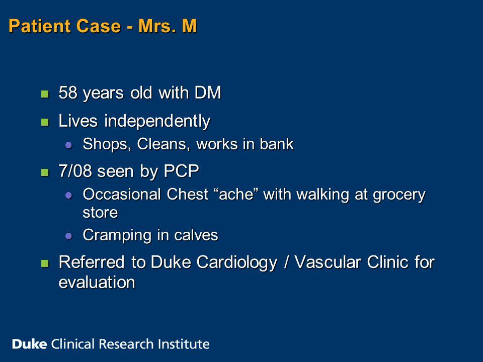 Patient Case - Mrs.
