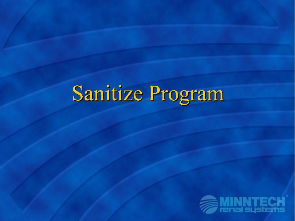 Sanitize Program