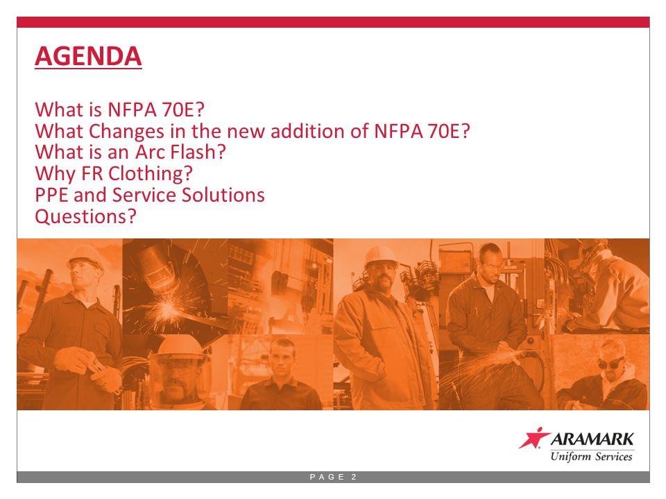 P A G E 3 What is NFPA 70E.