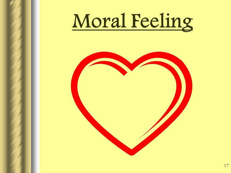 17 Moral Feeling