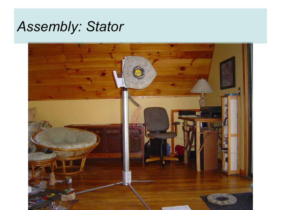 Assembly: Stator