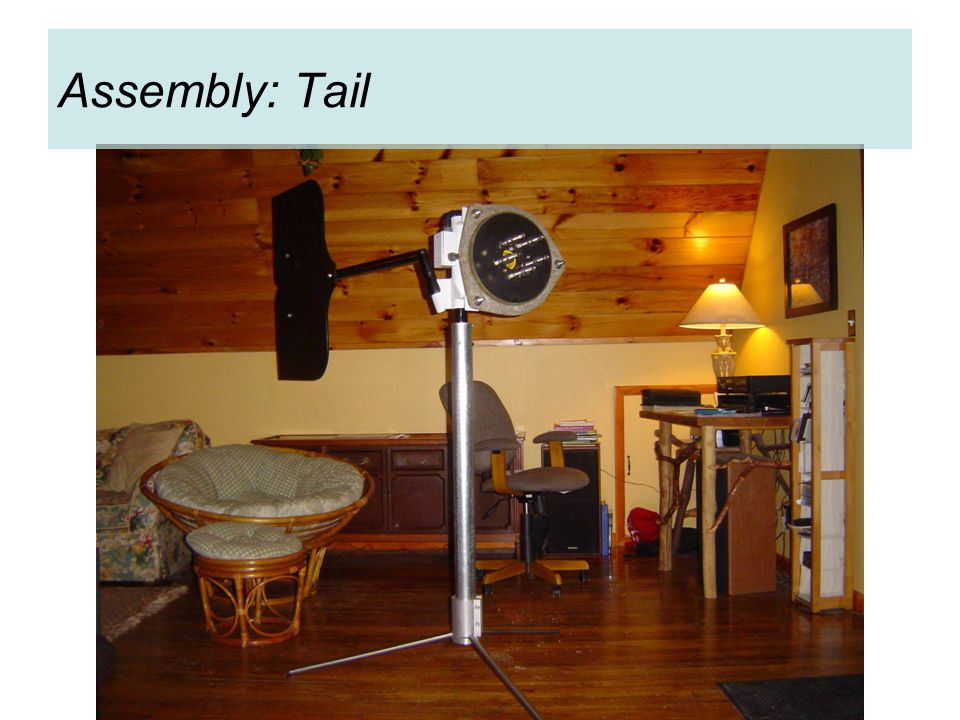 Assembly: Tail