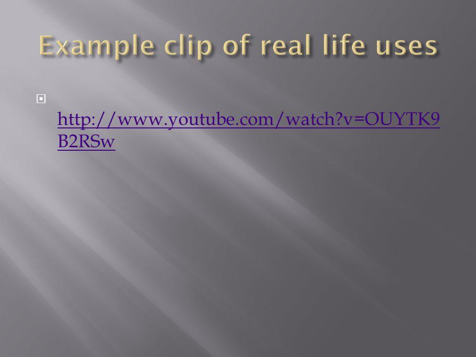  http://www.youtube.com/watch v=OUYTK9 B2RSw http://www.youtube.com/watch v=OUYTK9 B2RSw