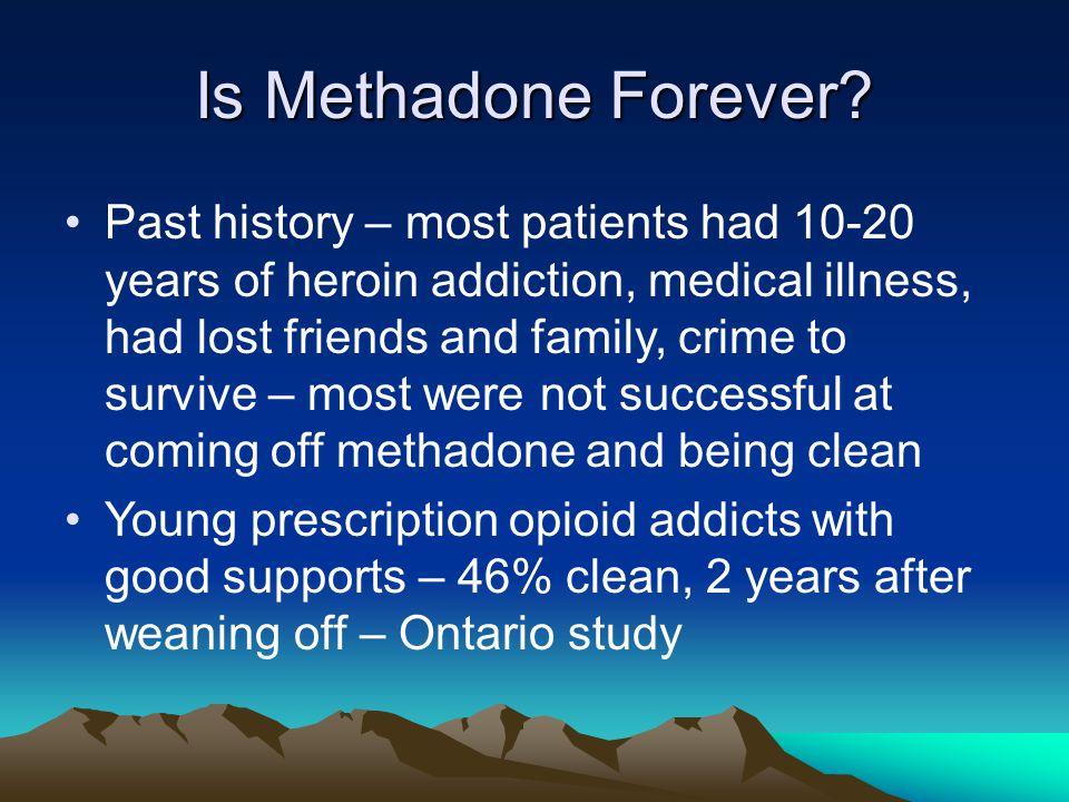 Is Methadone Forever.