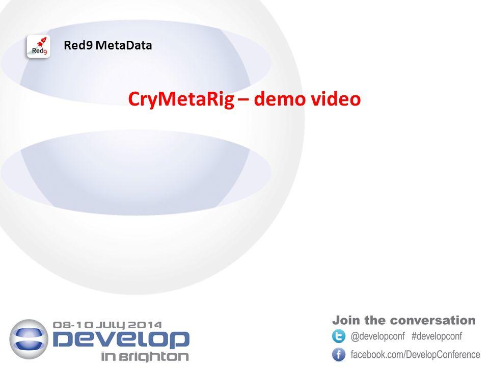 Red9 MetaData CryMetaRig – demo video