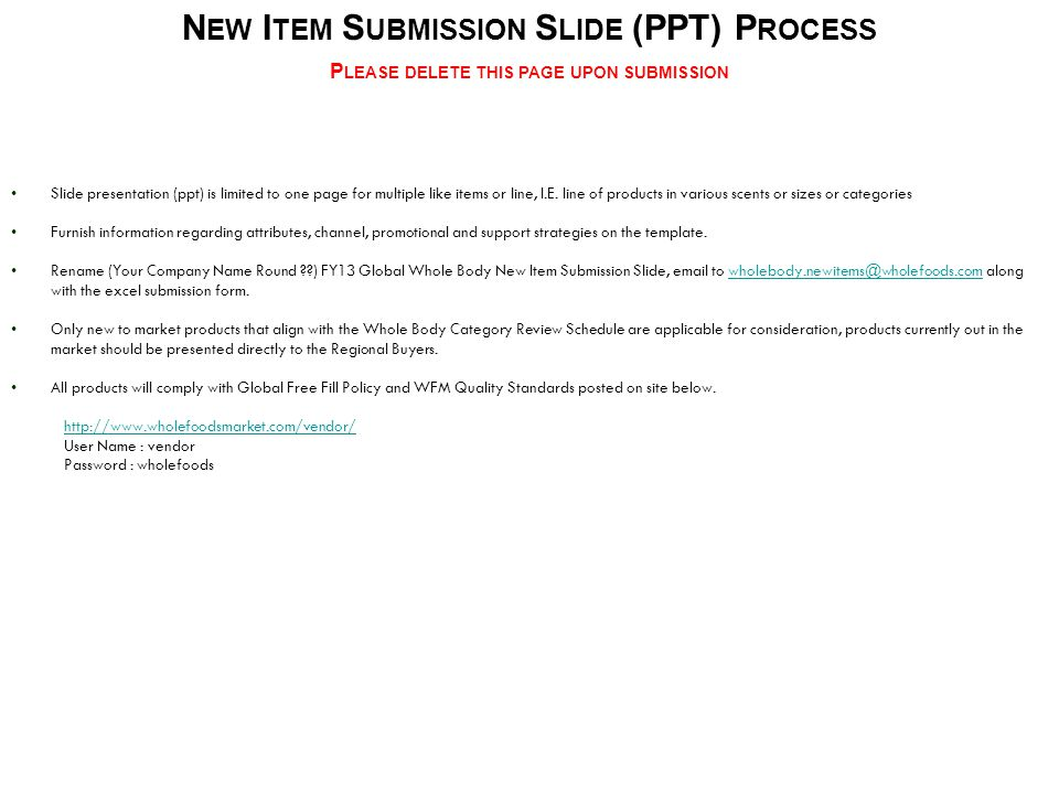 Slide presentation (ppt) is limited to one page for multiple like items or line, I.E.