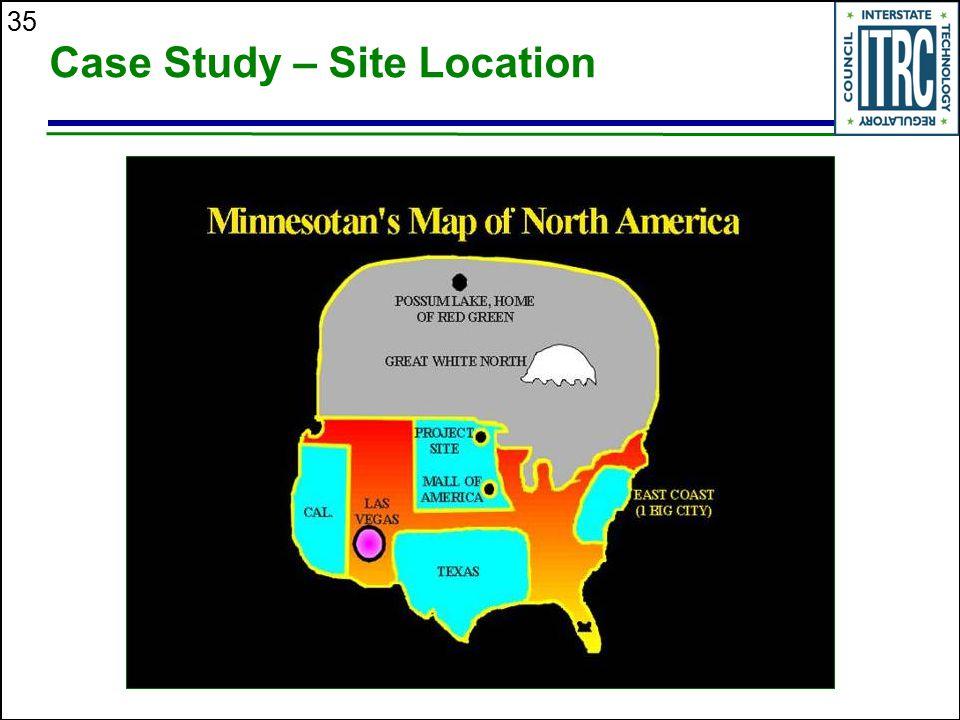 35 Case Study – Site Location