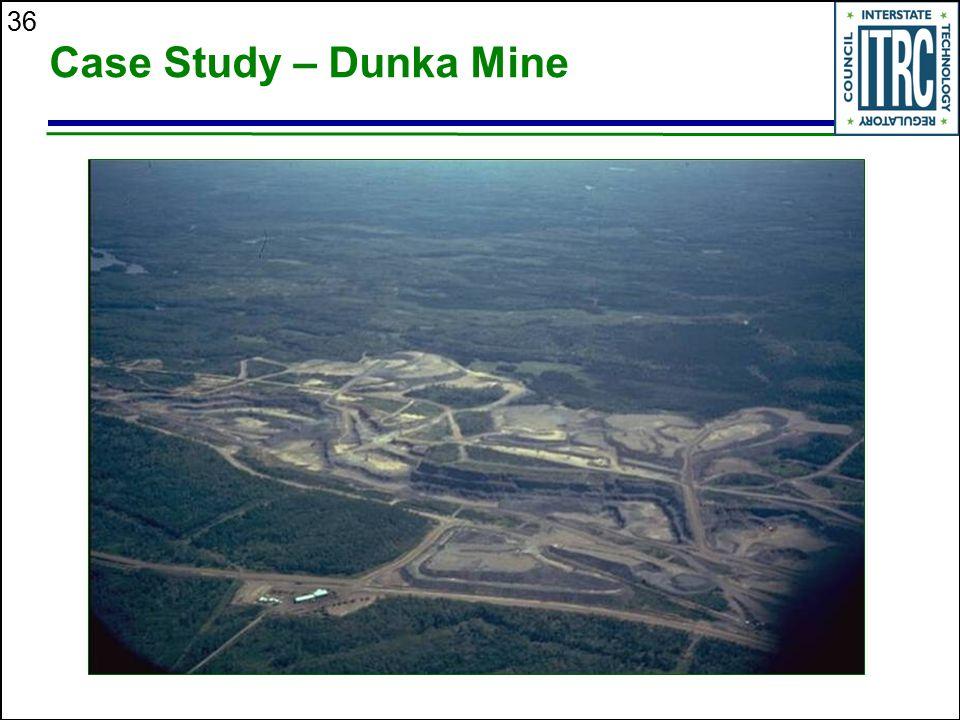 36 Case Study – Dunka Mine