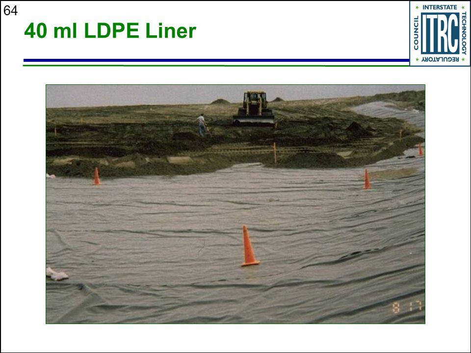 64 40 ml LDPE Liner