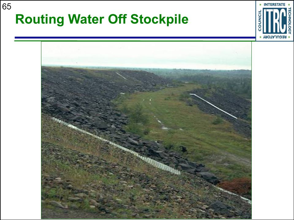 65 Routing Water Off Stockpile