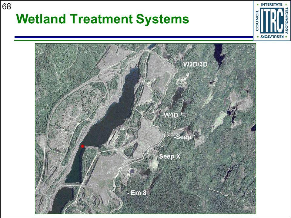 68 Wetland Treatment Systems