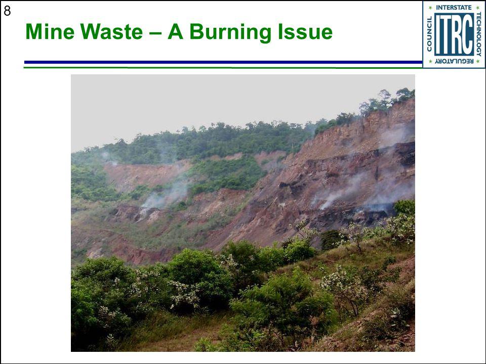 8 Mine Waste – A Burning Issue