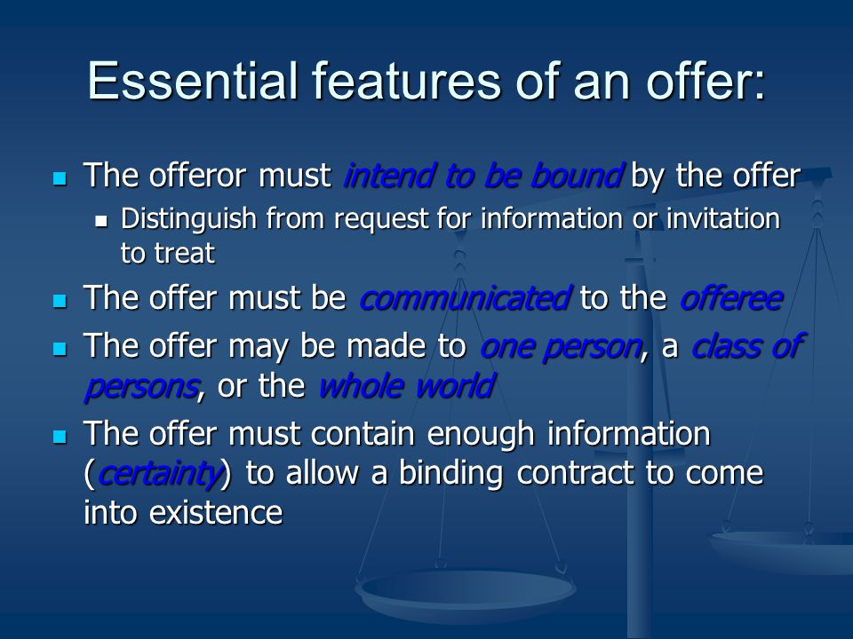 Formation of a contract a contract is an agreement that is 6 essential stopboris Images